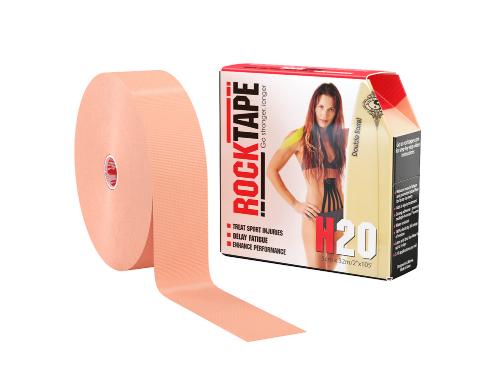 RockTape H2O, 5см×32м, телесный
