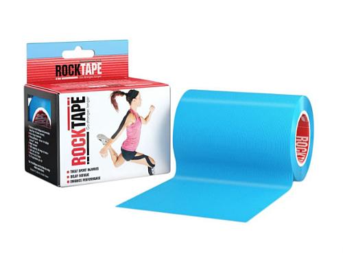 RockTape, 10см×5м, голубой