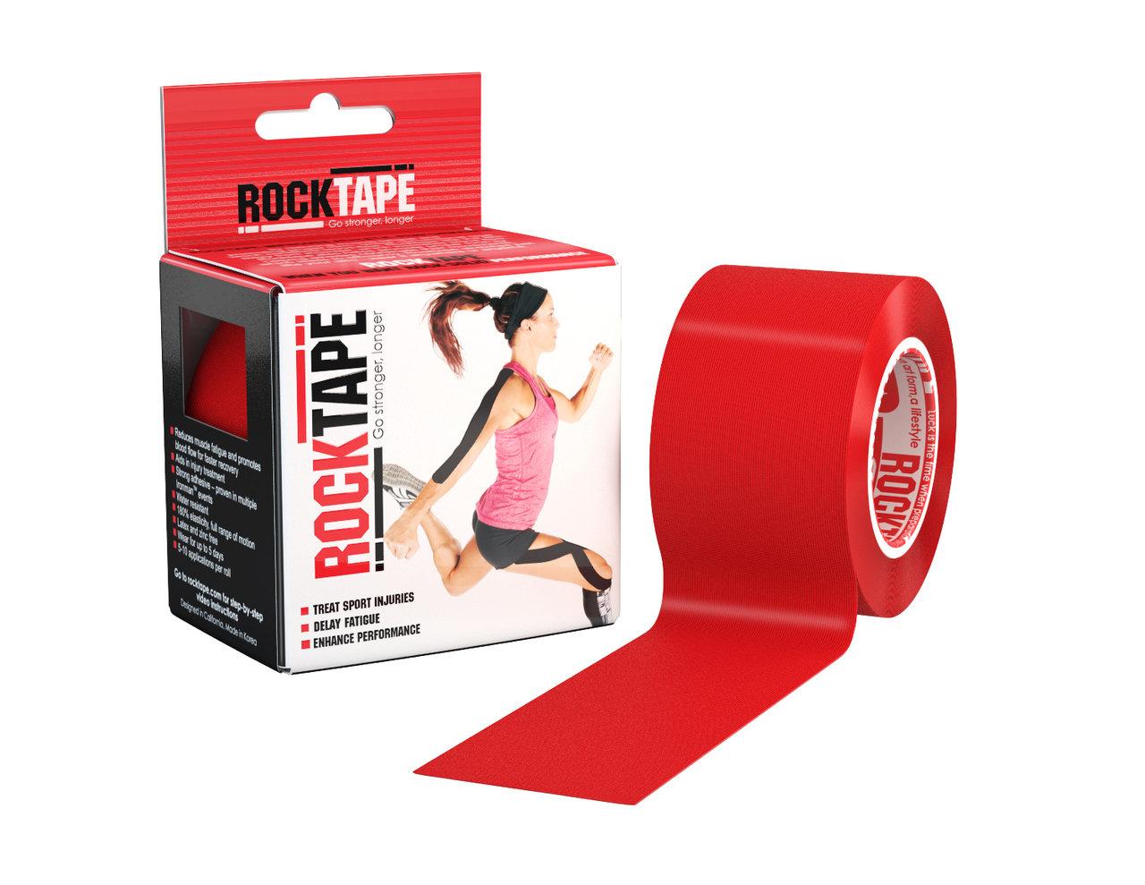 RockTape, 5см×5м, красный