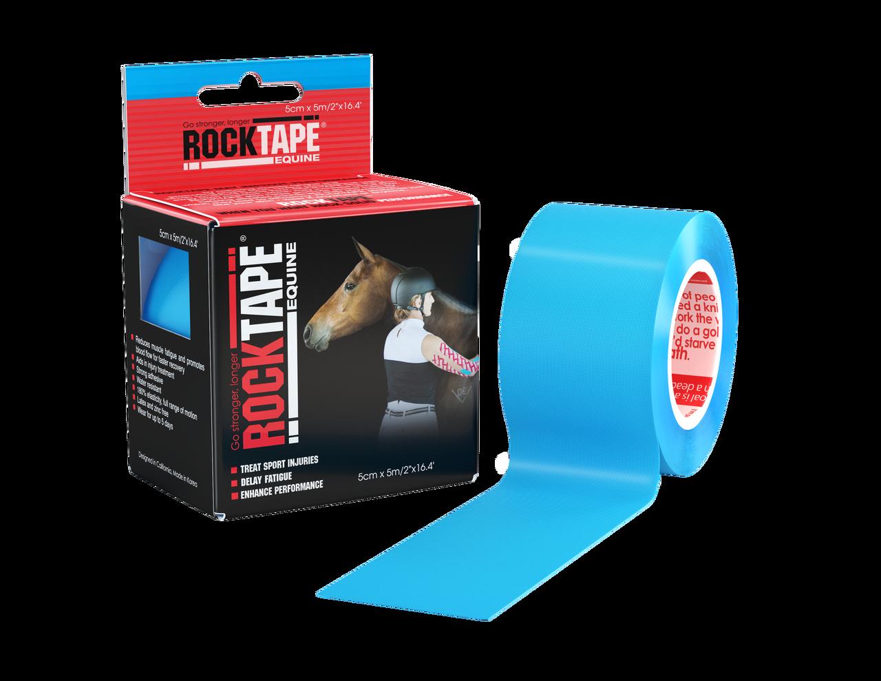 RockTape, Equine, 5см×5м, голубой