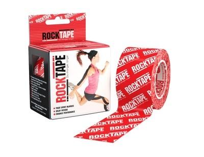 RockTape, 5см×5м, красный лого