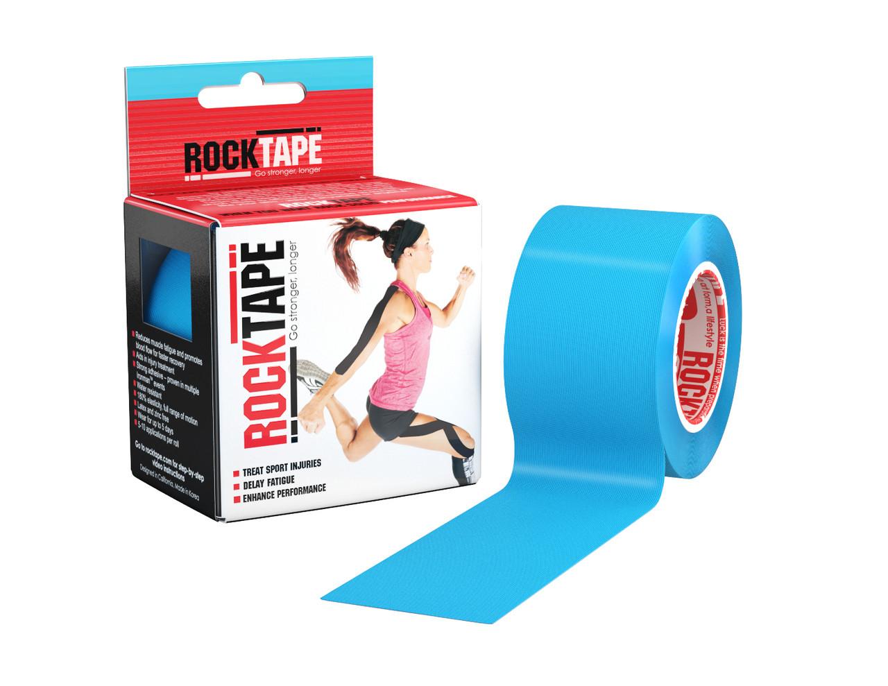 RockTape, 5см×5м, голубой