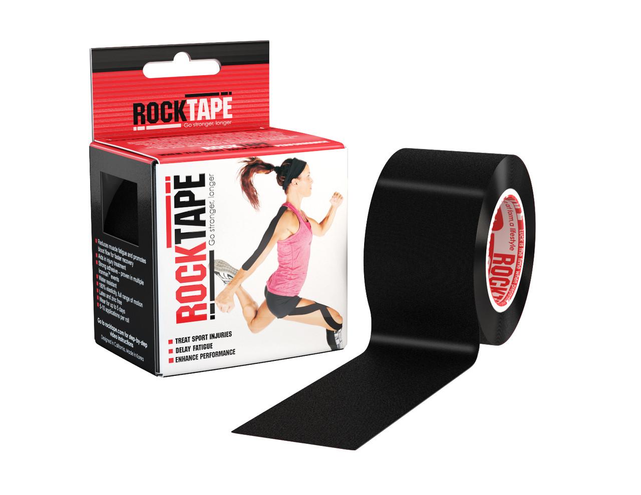 RockTape, 5см×5м, черный