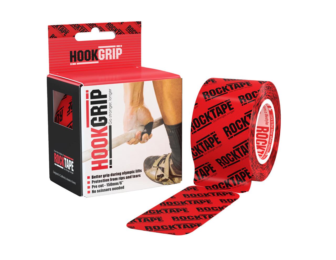 RockTape HookGrip, 5см×5м, 32 отрезка