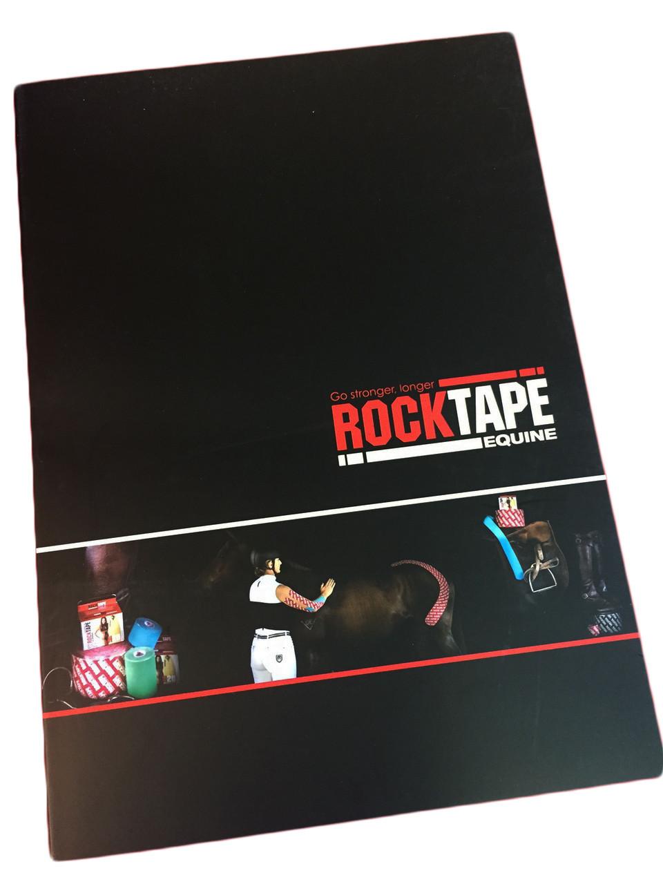 "Книга ""Equine Taping Manual"" RockTape"