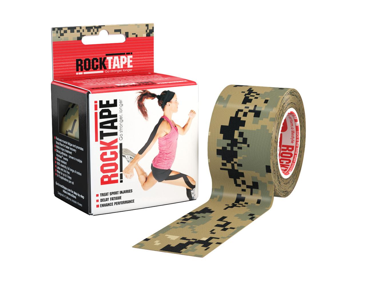 RockTape, 5см×5м, Digital Camouflage