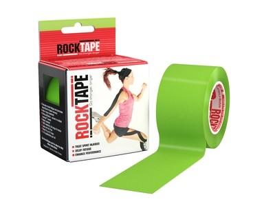RockTape, 5см×5м, лайм зеленый