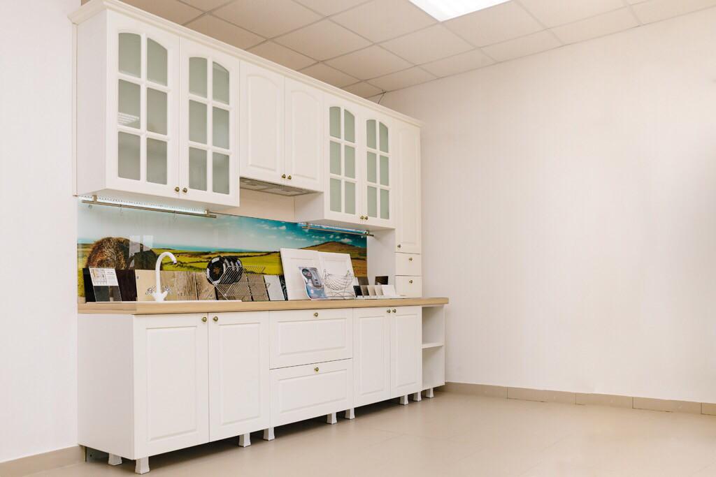 Кухня   Пленка   Рамка   Белый 1