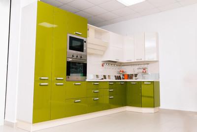 Кухня | Пленка | АГТ | Зеленый Беж
