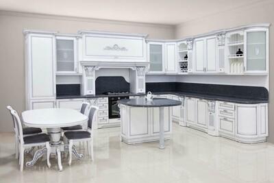 Кухня | Бук | Белый | Афродита