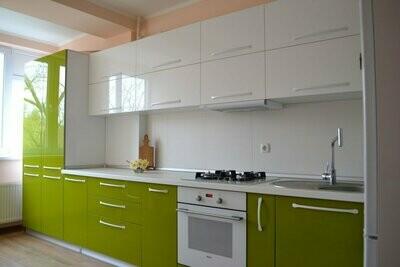 Кухня | Пленка | АГТ | Зеленый белый