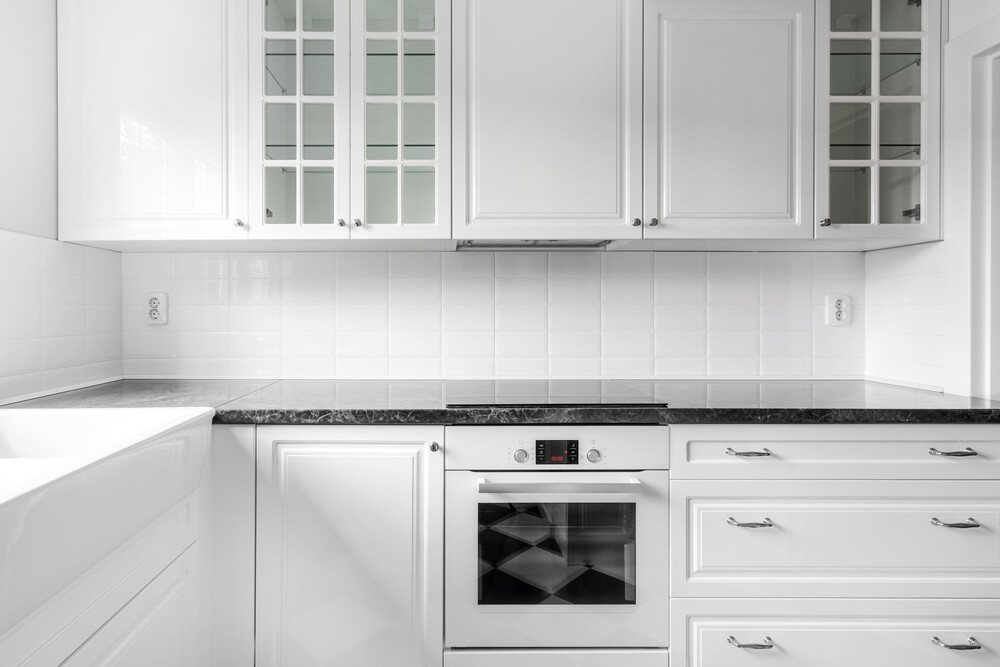 Кухня   Пленка   Рамка   Белый мат
