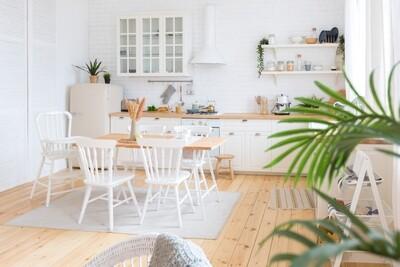 Кухня | Пленка | Рамка | Белый