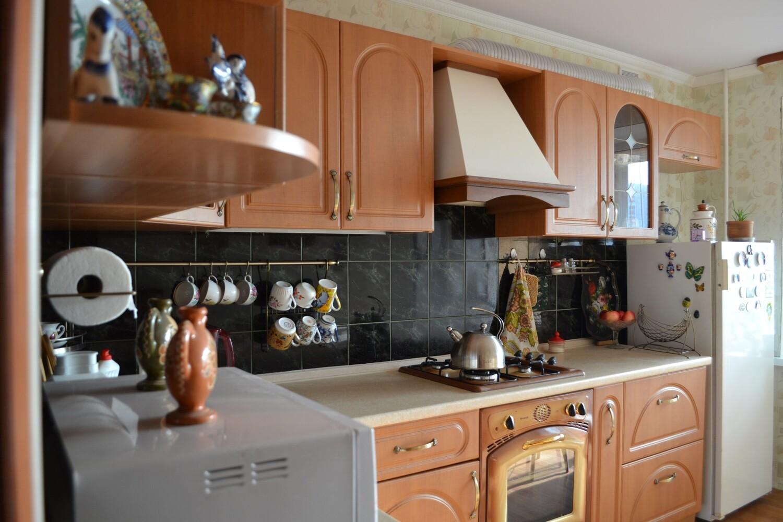 Кухня | Пленка | Рамка | Светло коричневый
