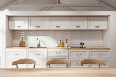 Кухня | Краска | Рамка | Белый 2