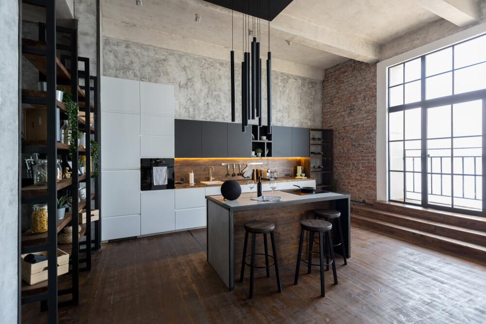 Кухня   Пленка   Интегра   Белый графит