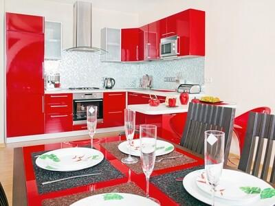 Кухня | Пластик | Lemark | Красный