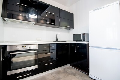 Кухня   Пленка   АГТ   Черный
