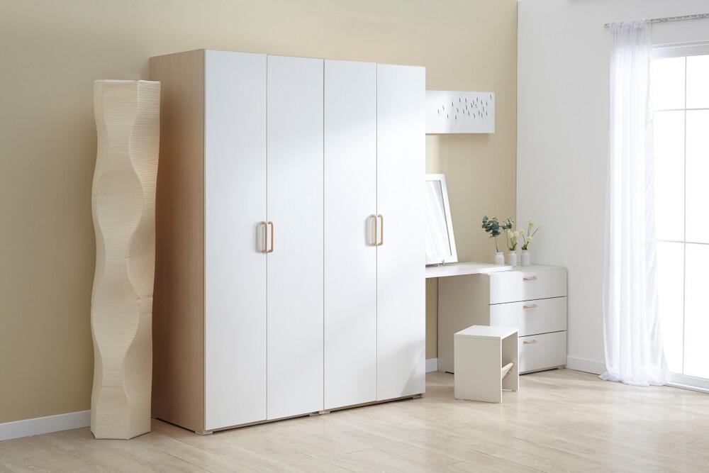 Шкаф | Распашной | Белый 2