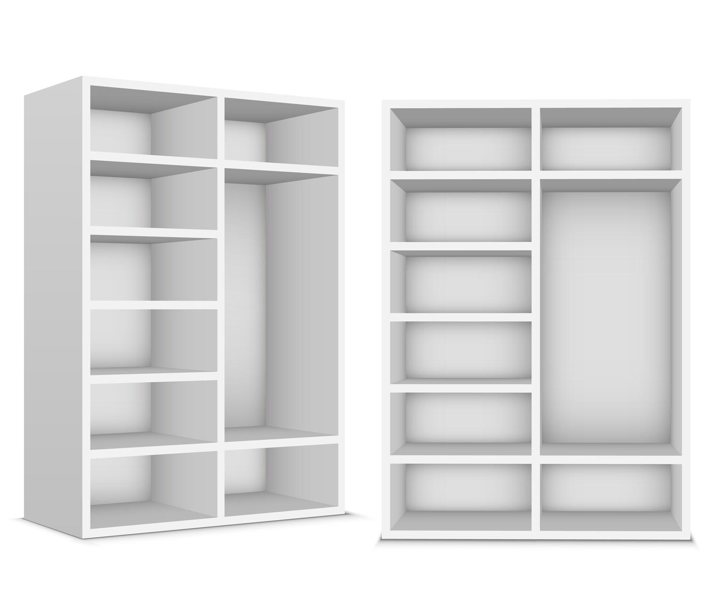 Корпус шкафа | Полки || Штанга