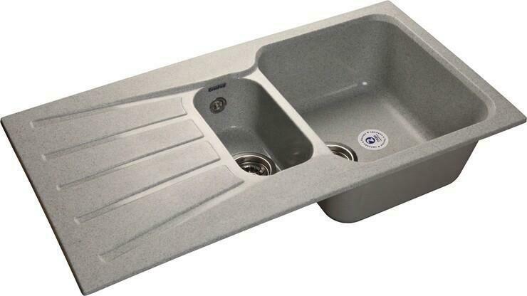 Кухонная мойка Granfest Standart GF-S940KL, Серый, разм. 940х495