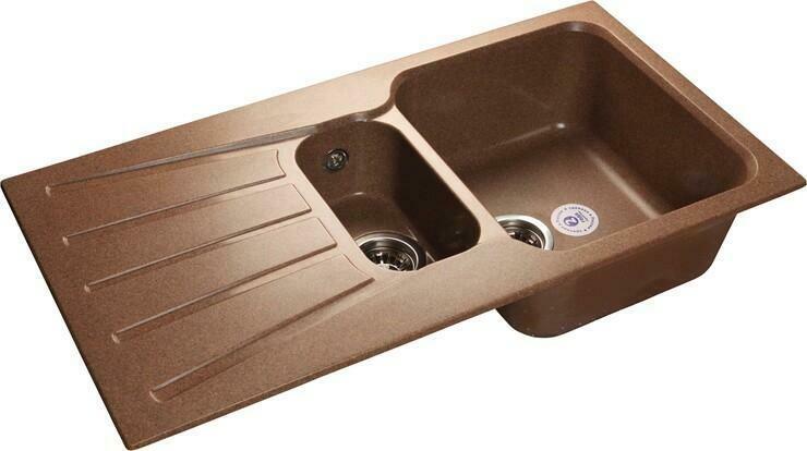 Кухонная мойка Granfest Standart GF-S940KL, Терракот, разм. 940х495