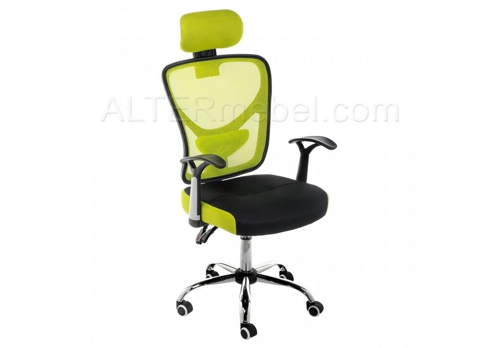 Компьютерное кресло Lody 1 зеленое / черное