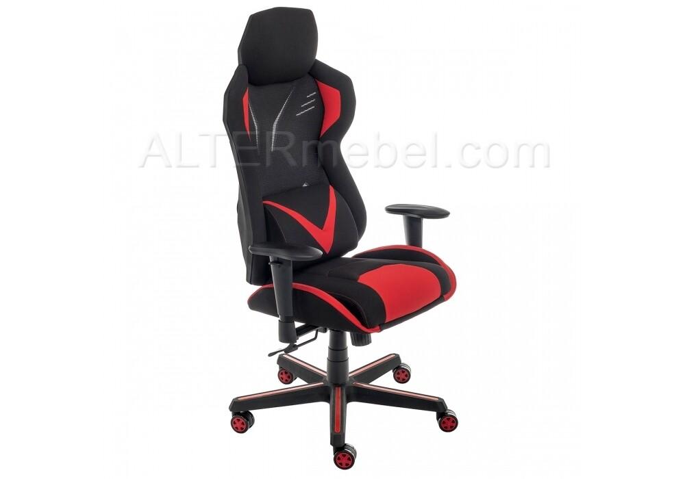 Компьютерное кресло Record красное / черное