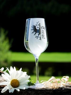 Weinglas Tirol