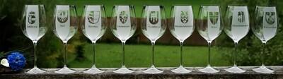 Weingläser Bundesländer