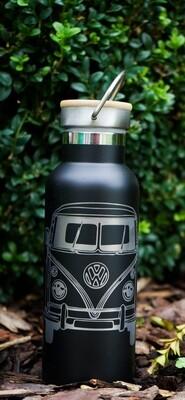 Thermosflasche mit VW Bus