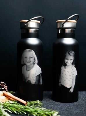 Fotogravur auf Thermosflasche