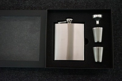 Flachmann Geschenksbox