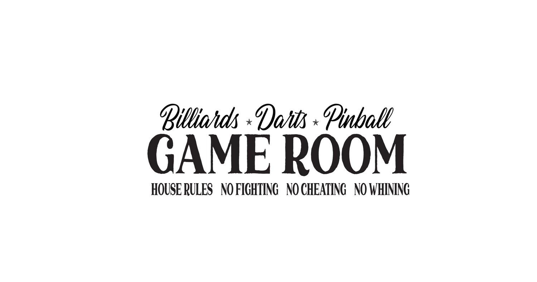 Game Room 01 Svg