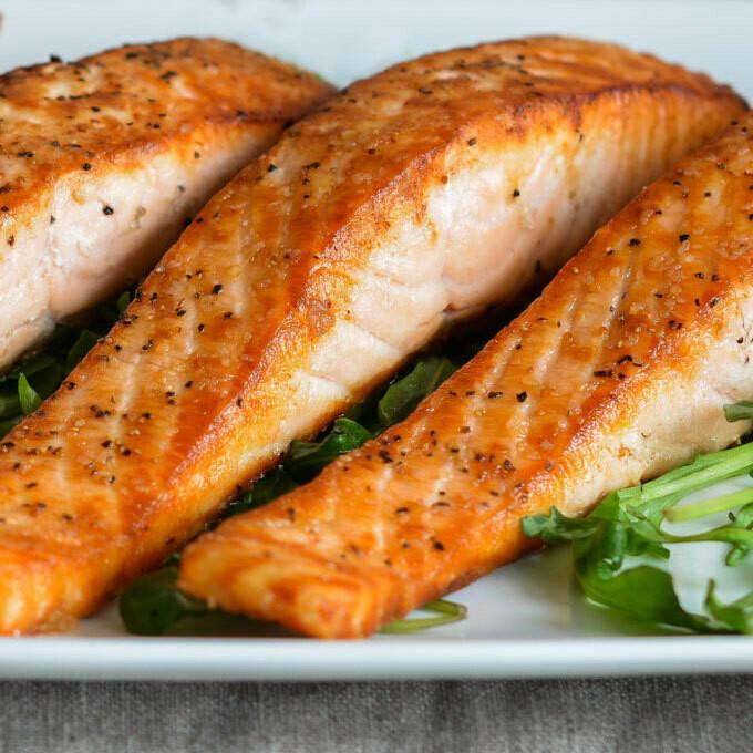 Salmon del mar