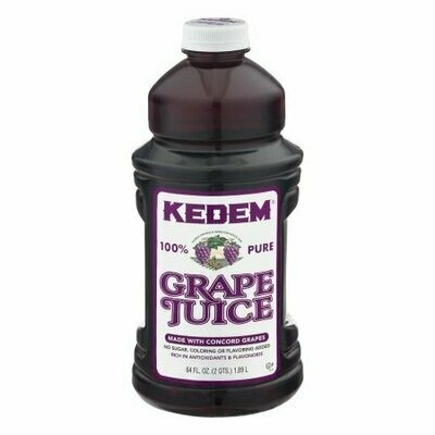 Grape Juice Kedem 64oz