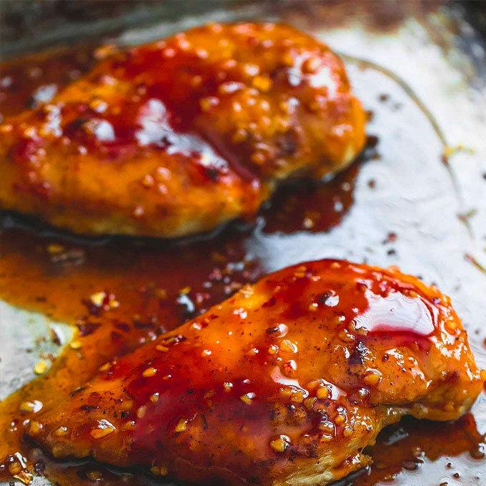 Sweet Sauce Chicken