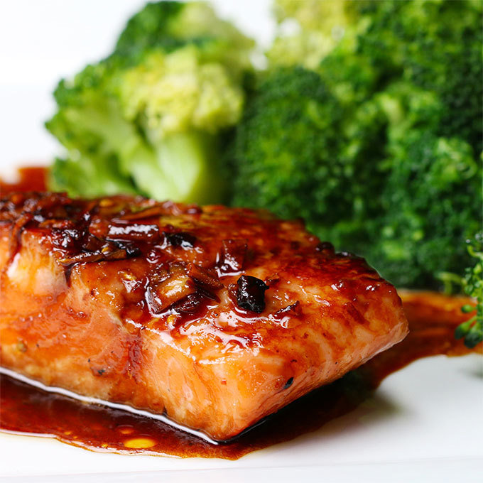 January 21 - Honey Mustard Salmon
