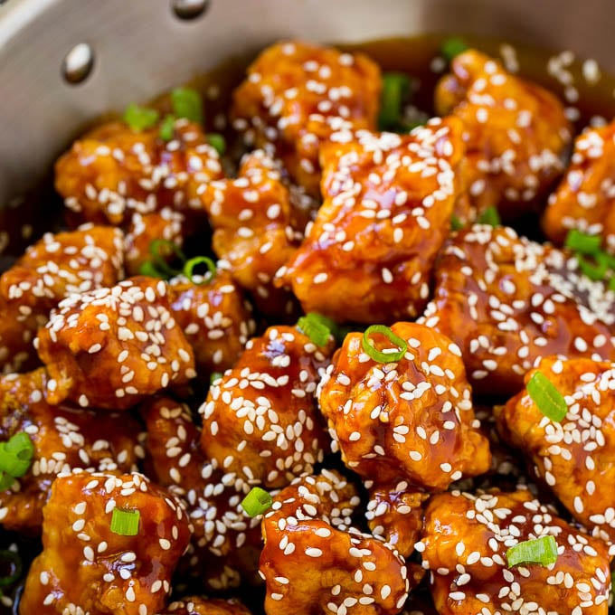 January 27- Sesame Chicken