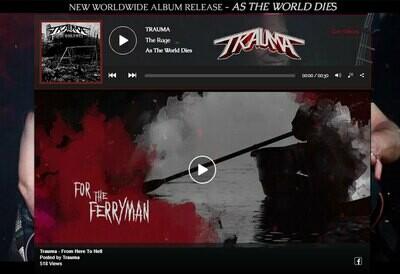 Band & Artist Music Website