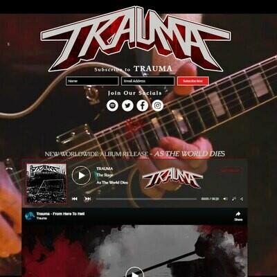 Wix Platinum Music Website