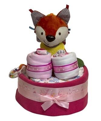 Foxy Fox Diaper Cake