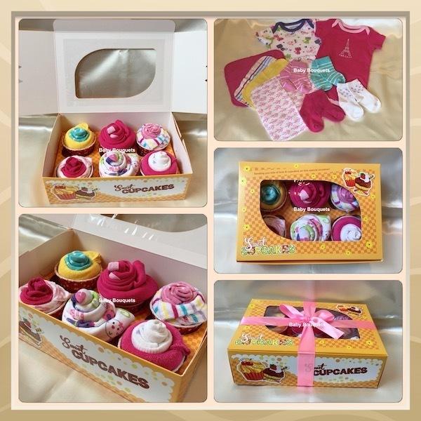 Sweet Cupcakes XL - Baby Girl