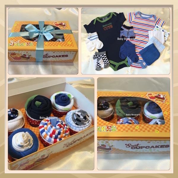 Sweet Cupcakes XL - Baby Boy