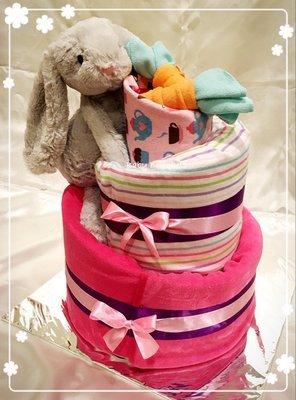 Topsy Turvy Bunny - Baby Girl