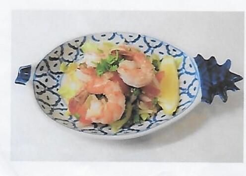 Salade de crevettes / Shrimps salad