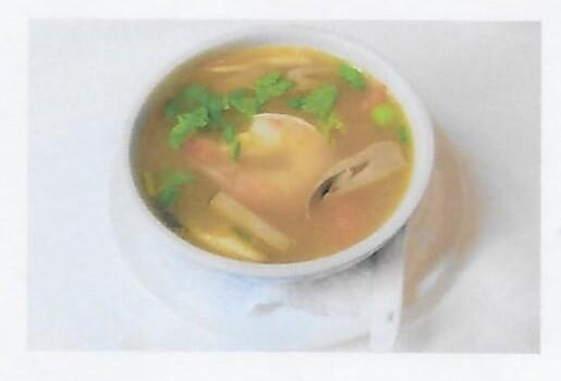Soupe de crevettes à la citronnelle / Shrimps soup ( Tom Yum Kung)