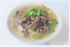 Soupe de nouille au boeuf / beef noodles soup