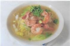 Soupe de nouille au crevette / Shrimp noodles soup