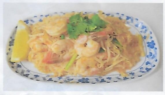 Nouilles sautées façon thai (phad thai) / Thai style fied noodles (phad  Thai)